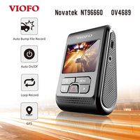Original VIOFO A119 2.0 LCD Capacitor 2K 1440P Novatek 96660 HD Car Dash video recorder DVR Optional GPS CPL Filter