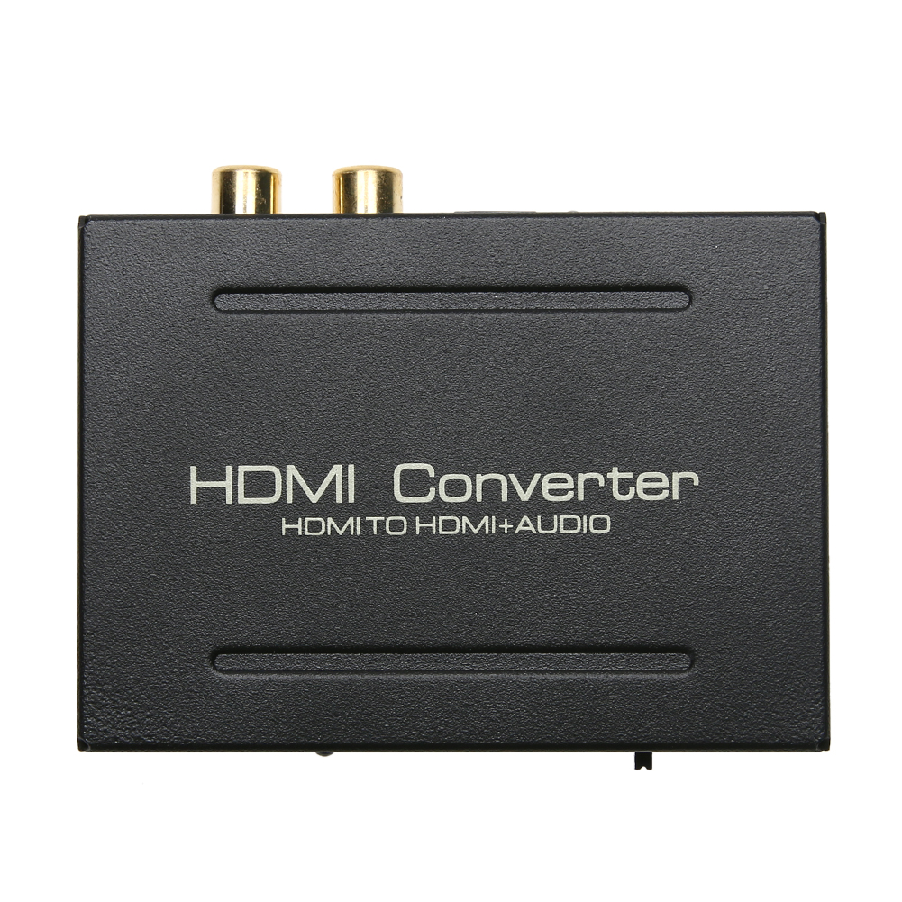EU Standard Plug DC 5V HDMI to HDMI Optical SPDIF + RCA L/R Converter Adapter 1080P Audio Splitter for Apple TV Blu-ray Player vention digital optical audio cable toslink gold plated 1m 2m spdif coaxial cable for blu ray cd dvd player xbox 360 ps3 av tv