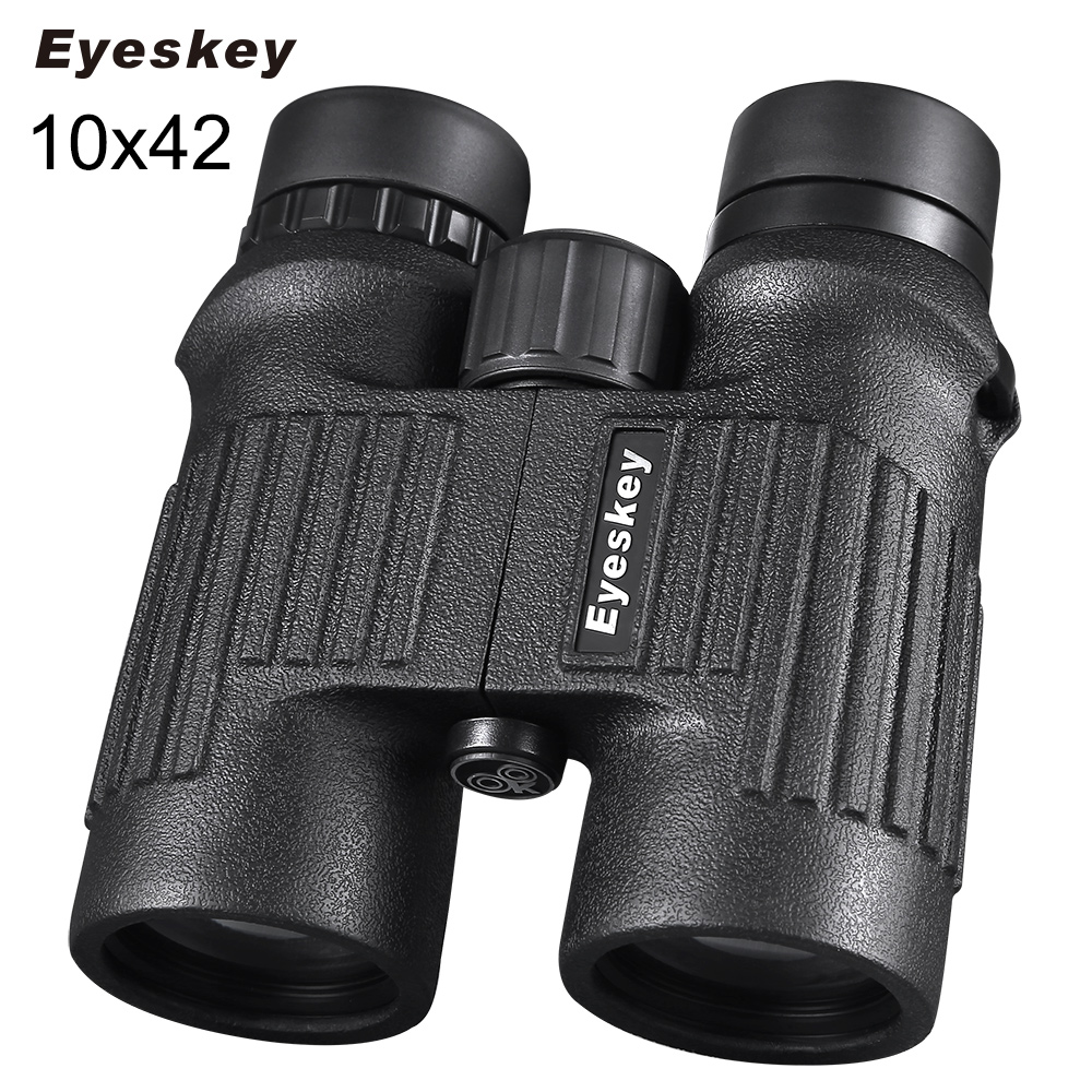 Eyeskey HD BAK4 FMC Optics 8x42/10x42 Zoom Waterproof Nitrogen Monocular Binocular Telescope for Hunting Outdoor Trip Concert 2017 new arrival all optical hd waterproof fmc film monocular telescope 10x42 binoculars for outdoor travel hunting