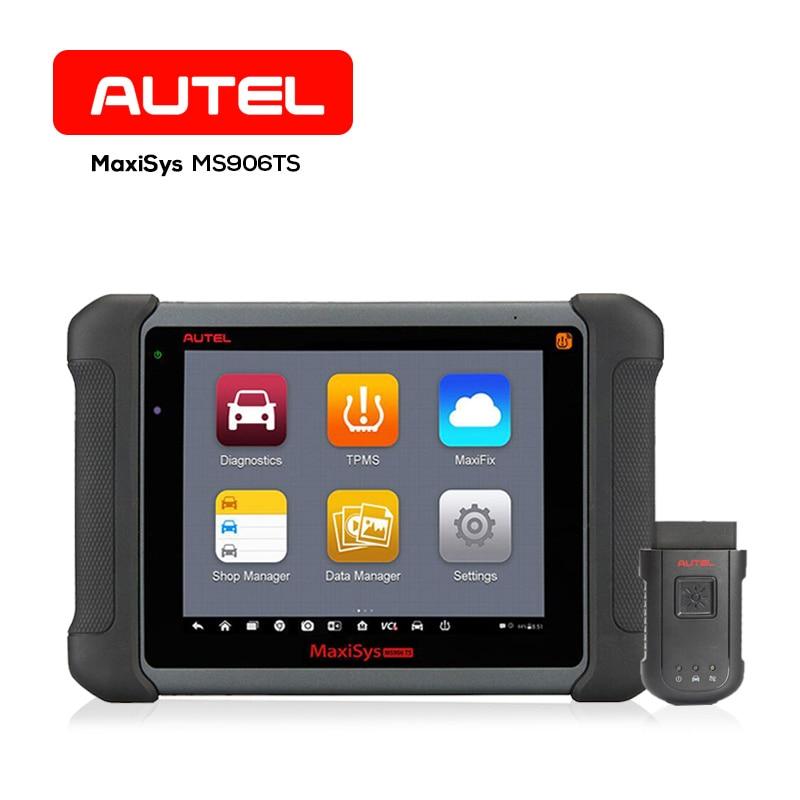 Autel MaxiSys MS906TS Car Diagnostics Tools 8 Wireless Auto ECU Tester TPMS Sensor Upgrade of MS906 & MS906BT Scanner