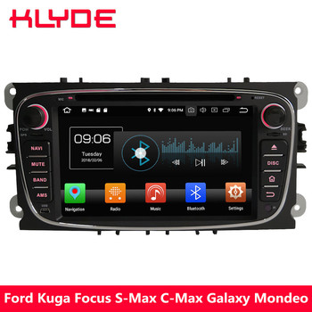 """KLYDE 7"""" 4G Octa Core PX5 Android 8.0 4GB RAM 32GB ROM Car DVD Player Radio Stereo For Ford Mondeo Galaxy Kuga Focus S-Max C-Max"""