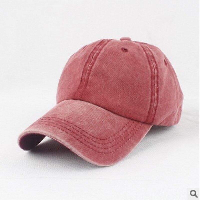 fbc07495ed424 Blanco suave lavado sombrero de béisbol llanura SnapBack Cap mujeres  hombres deportes hiphop casquillo gorras para hombre mujer