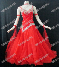 New Competition ballroom Standard dance dress,juvenile dance clothing, women dress,Salsa dance dress,Tango dance dress