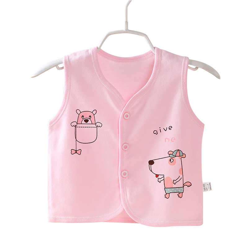 87158b115b Detail Feedback Questions about Dog Cartoon Baby Vest 100% Cotton ...