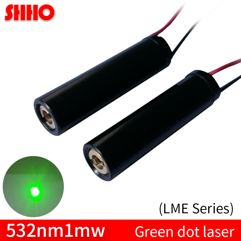 High quality LME Series 532nm 1mw green dot laser module long distance laser positioning locator accessories