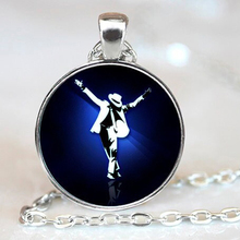 Classic Michael Jackson Moonwalk Pendant Necklace Fans Favorite Brand Vintage Star Statement Jewelry Necklaces Pendants