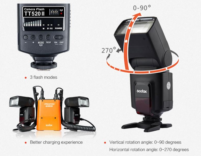 Godox TT560II Camera Flash with 16 Channels transmitter (18)
