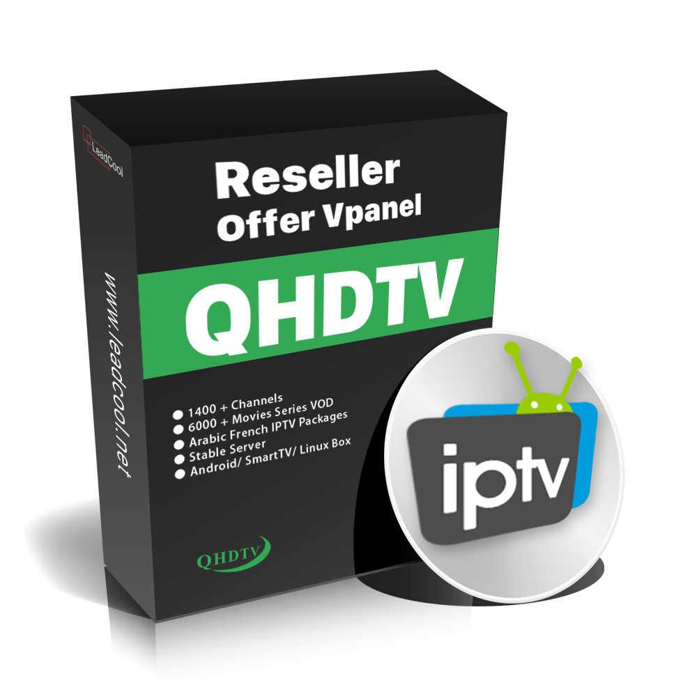 1 שנה מנוי IPTV אנדרואיד טלוויזיה חכמה תיבת QHDTV IUDTV SUBTV קוד פורטוגל איטליה ספרד שוודיה צרפת הולנד ערבית M3U