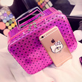 Cosmetic Bag Korea style Makeup Box bag Washing Organizers Travel Collecting Waterproof Makeup case for lady girls
