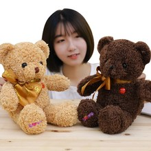 1pc 38cm/60cm High Quality Super Kawaii Cute Bear Dolls Teddy Soft Toy Wedding Gifts Baby Birthday gift  toys