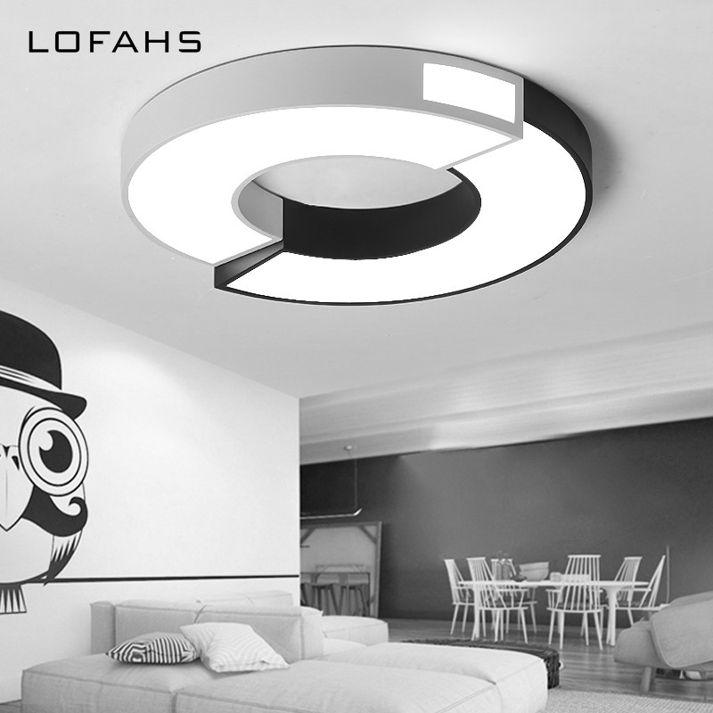 BWART Iron LED Modern Ceiling Lights fixtures For Bedroom Dining Room luminaire black white Ceiling Lamp lamparas de techo 2017 acrylic modern led ceiling lights fixtures for living room lamparas de techo simplicity ceiling lamp home decoration