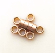 20pcs/lot  Inner diameter: 8mm outer 12mm length: 6mm Copper base oil bearing Oil-filled copper sleeve,