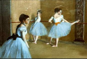 High quality Oil painting Canvas Reproductions Dance Opera (1872) By Edgar Degas hand painted