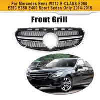 ABS Car Style Front Mesh Grill Grille For Mercedes Benz W212 E CLASS E200 E250 E350