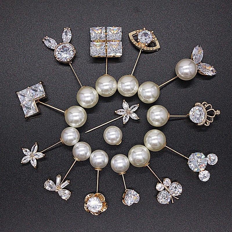 Casual Army Medal Arrow Shield Fancy Brooch Pin Dress Hat Costume Accessory