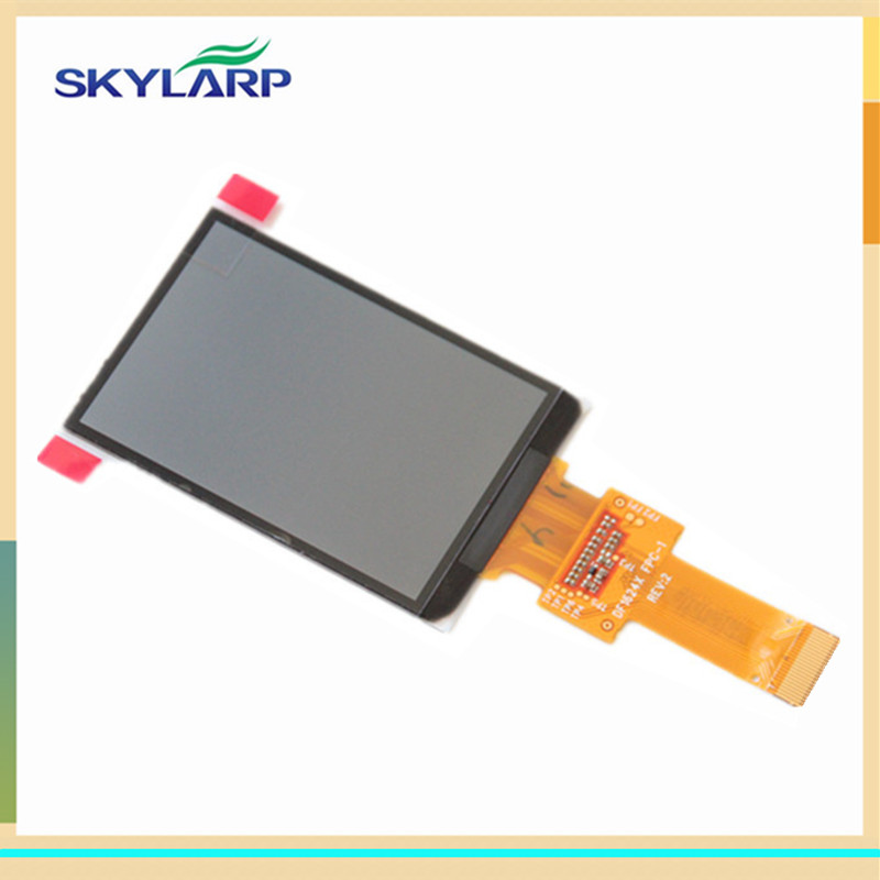 skylarpu 2.6 inch For GARMIN edge 810 800 Handheld GPS NAVIGATION LCD Screen Replacement (Without backlight) (without touch) skylarpu 2 2 inch lcd screen module replacement for lq022b8ud05 lq022b8ud04 for garmin gps without touch