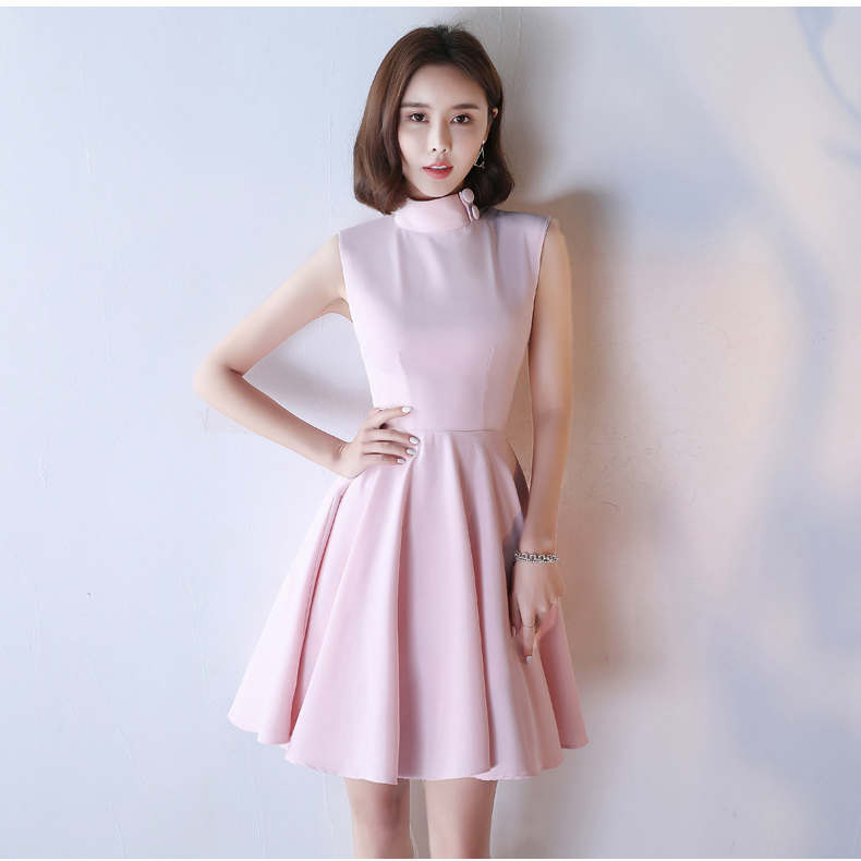 HTB13ftYSpXXXXbrXFXXq6xXFXXXD - Pink Short Homecoming Dresses Junior Party Dresses JKP066