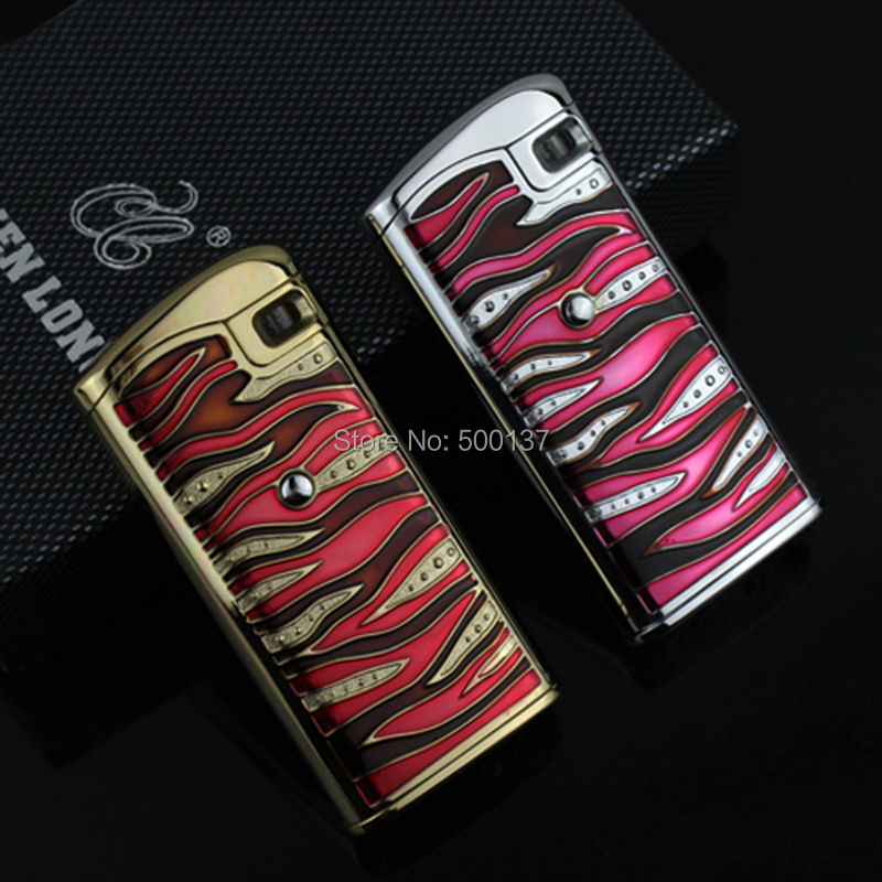 FIREDOG Perfect Design Electric Electronic Touch Sensor Red Jet Flame Cigarette Cigar Windproof Lighter