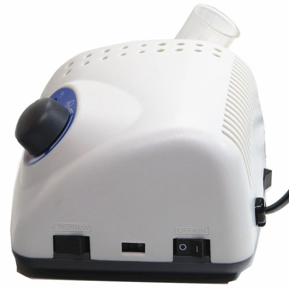 65 W 35,000 RPM Strong 210 102L ไฟฟ้าเล็บเจาะเครื่องแฟ้ม Bits เล็บประติมากรรม polisher อุปกรณ์ศิลปะ-ใน สว่านเจาะเล็บไฟฟ้าและอุปกรณ์เสริม จาก ความงามและสุขภาพ บน   3