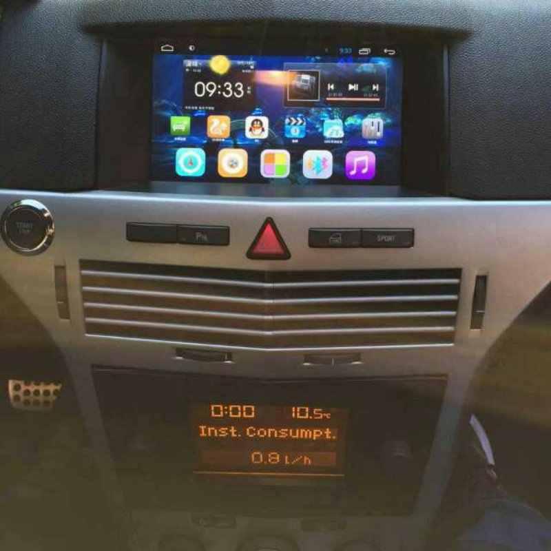 Liandlee オペルアストラクラシック III 2004 〜 2014 車アンドロイドラジオプレーヤー GPS ナビマップ HD タッチスクリーンテレビマルチメディア No CD DVD