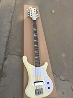 Wholesale Rick 8 String Bass 4003 Model Electric Bass Guitar Mahogany Top Quality In Cream 160905 15