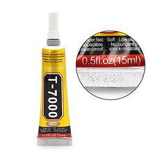 1Pcs 15ml Industrial Strength Adhesive, T7000 Black Liquid Glue for Touch Screen DIY Stick Drill Jewerly Craft Rhinestone Glue