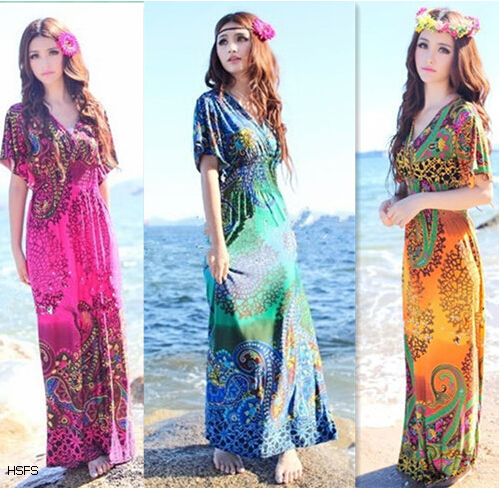 Summer Dresses for Women Hawaiian Beach Dress