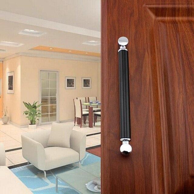 128mm moderne de mode meubles poigne noir cuisine armoire traction argent dresser bouton placard tirer 5 - Cuisine Noir Et Argent