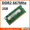 Hynix 2 ГБ ddr2 667 sodimm pc2-5300 ноутбук, so-dimm ddr2 667 мГц 2 ГБ pc2-5300S ноутбука, оперативной памяти ddr2 2 ГБ 667 мГц sdram