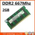 Hynix 2gb ddr2 667 pc2-5300 sodimm laptop, ddr2 667mhz 2gb pc2-5300S so-dimm notebook, memory ram ddr2 2gb 667 mhz sdram