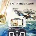 MJX X601H Кроны Камеры Hd Wi-Fi беспилотный Автоматический Возврат Вертолет Профессиональный FPV Drone Мультикоптер с Камерой