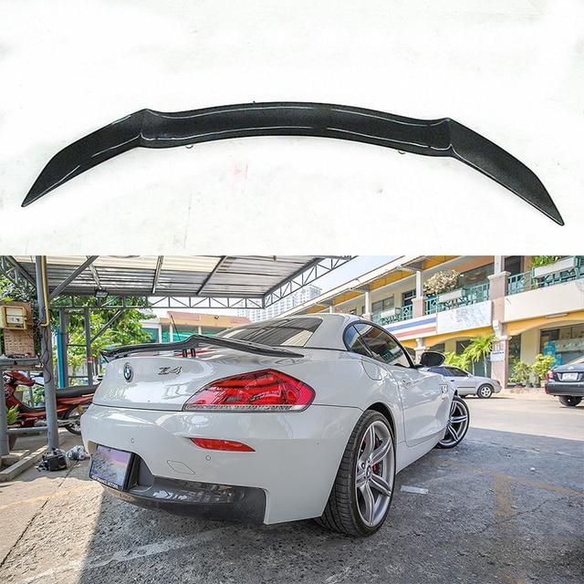 Universal Rowen Style Carbon Fiber Rear Trunk Spoiler Wing