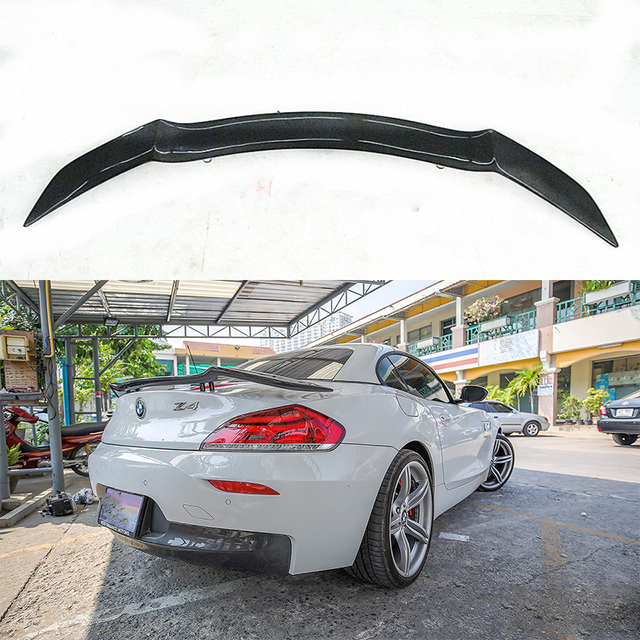 Bmw Z4 Boot: Universal Rowen Style Carbon Fiber Rear Trunk Spoiler Wing