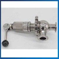 Нержавеющий стальной карточный клапан быстрого сброса 1.6MPA санитарный предохранительный клапан