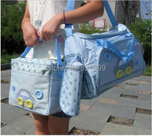 4pcs/set 2014  Multi Function Baby Bag Diaper Bag