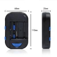Evrensel Şarj Edilebilir Pil Şarj AA AAA Için Camara Cep Telefonu Telefon piller Dijital Şarj DC USB Portu ABD, AB Tak Newes