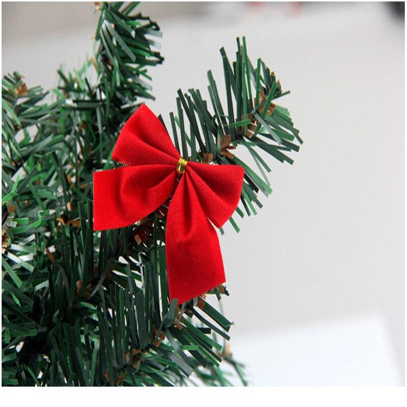 Wholesale 24pcs Christmas Bow Xmas Tree Bowknot Ornament