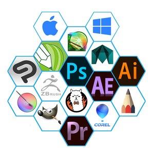 Image 5 - GAOMON S620 6,5x4 Zoll Digital Board Unterstützung Android Telefon Windows Mac OS System Grafik Tablet für Zeichnung & spielen OSU