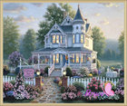Diamond Painting painting by numbers paint cross-stitch 2540R - Square Diamond embroidery