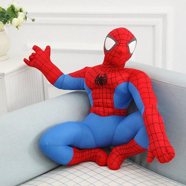 Cozfay Dropshipping Livre Filme & TV de cócoras SpiderMan Homem-Aranha de Brinquedo de pelúcia boneca de pelúcia para As Crianças presente de aniversário