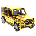 AMG G65 Diecast Metal Car Toys 1:32 Alloy Cars Auto Model With Pull Back Function Openable Door As Gift For Kids