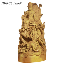 72cm sculpture wooden buddha statues for decoration Guanyin wood budas statue Carved escultura