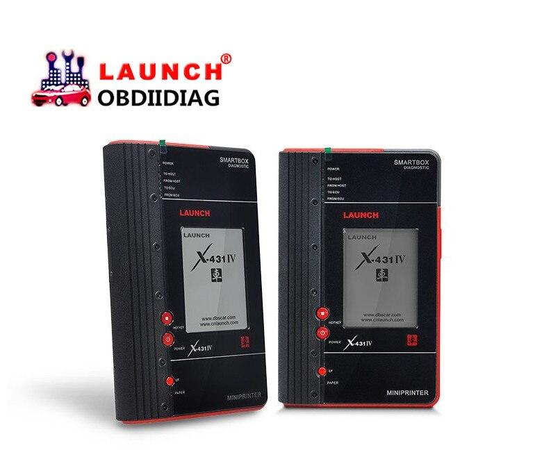 Цена за Оригинал старта X431 IV мастер диагностический инструмент Запуск X-431 Мастер IV бесплатное обновление на запуск сайт лучше чем Diagun 3