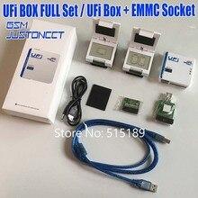 Gsmjustcct UFi коробка мощный сервис EMMC инструмент читать данные пользователя EMMC, ремонт, изменение размера, формат, стирание, запись обновление прошивки EMMC