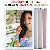 FENGXIANG Octa Core 10,1 дюймов планшетный ПК android планшет 4 ГБ Оперативная память 64 ГБ Встроенная память Dual SIM планшетных ПК Bluetooth gps android 7,0 10 Планшеты