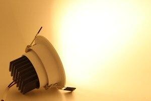 Image 4 - 調光対応 Led ライトランプ Horizan 天井スポットライト 3 ワット 5 ワット 7 ワット 10 ワット 85 265V 天井凹型インテリア照明ランプ