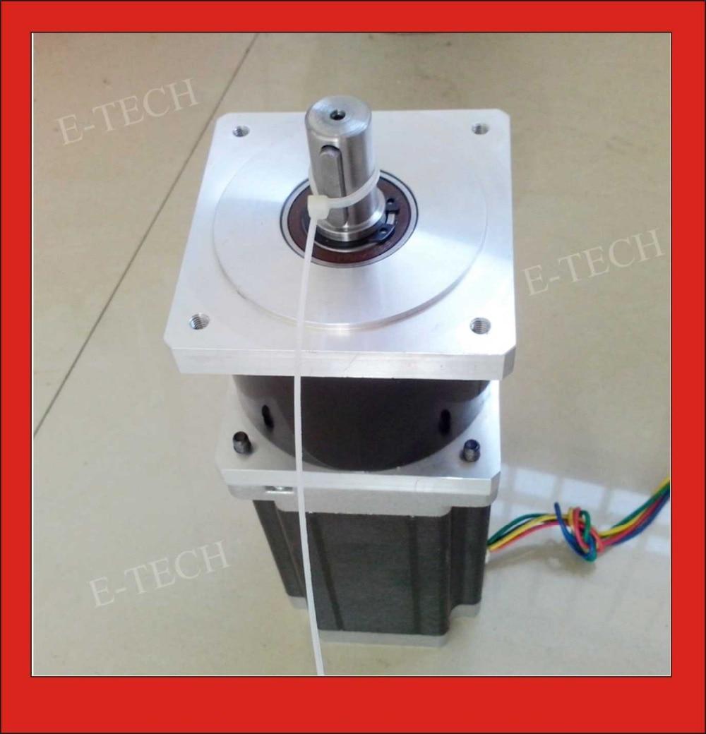 10:1 NEMA34 Planetengetriebe Getriebe Stepper Precesion Modell Getriebeschrittmotor Körper Länge 98mm