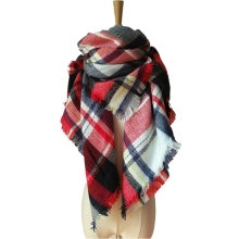 winter scarf 2016 Tartan Scarf women Plaid Scarf cuadros New Designer Unisex Acrylic Basic Shawls warm