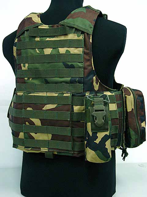 us molle sports vest combat strike plate carrier vest camo