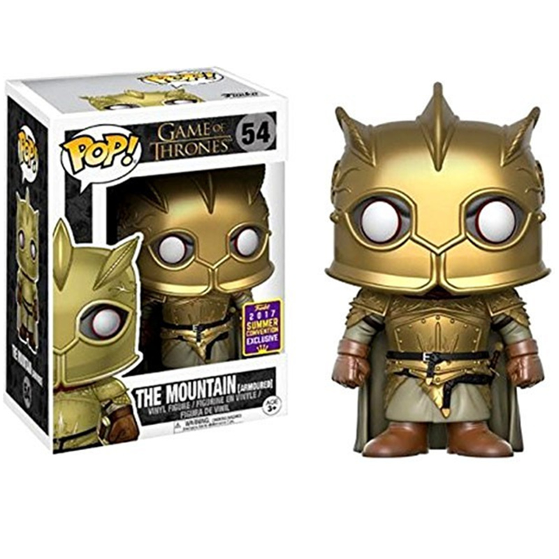 FUNKO POP Official Game of Thrones The Mountain 54 # Vinyl Action Figures Collectible Model Toys for Children Birthday PresentsFUNKO POP Official Game of Thrones The Mountain 54 # Vinyl Action Figures Collectible Model Toys for Children Birthday Presents